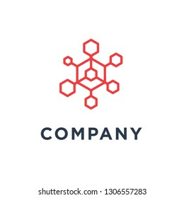 Hexagon Conection Logo