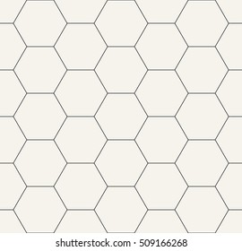 hexagon geometric black and white graphic pattern
