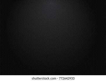 Hexagon pattern background