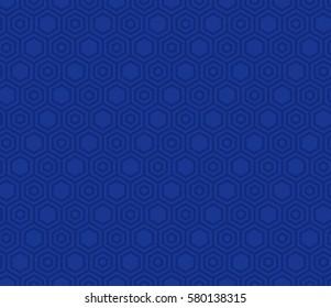 Hexagon Seamless Vector Pattern