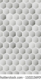 Hexagon vector texture. Hexagonal grid repeat pattern. Geometric pattern monochrome structure, graphic hexagon repeat background illustration