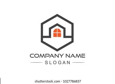 hexagonal architecture logo