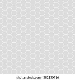 Hexagonal grid design,Vector seamless pattern.