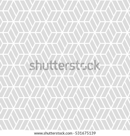 Hexagonal Grid Patternseamless Background Stock Vector Royalty Free