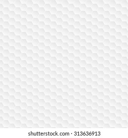 Hexagonal white pattern