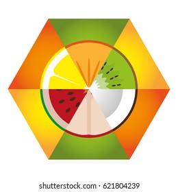 hex-juicy fruit set