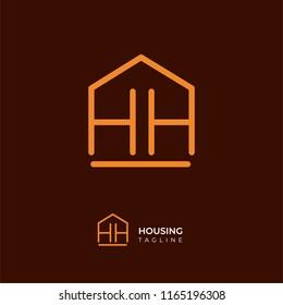 HH real estate letter logo