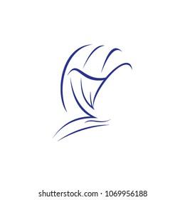 hi jab beauty logo template