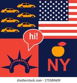 hi New York pattern