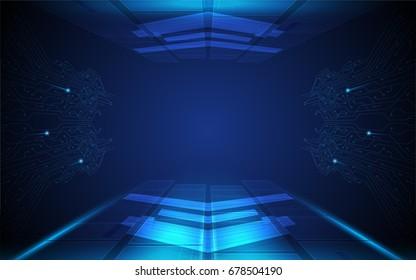 hi tech speed connection futuristic concept background