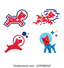Hi tech style Laika dog illustration.jpg