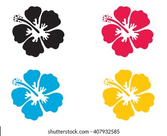 hibiscus clip art images stock photos vectors shutterstock rh shutterstock com red hibiscus flower clipart
