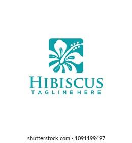 Hibiscus Logo Design