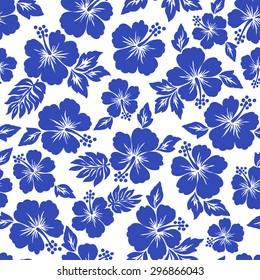 Hibiscus pattern