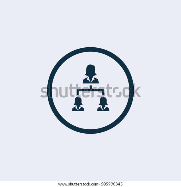 Hierarchy icon.business icon