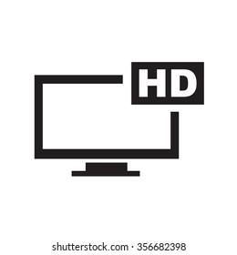 High definition icon
