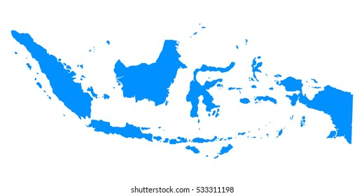 Indonesia Map Images, Stock Photos & Vectors | Shutterstock