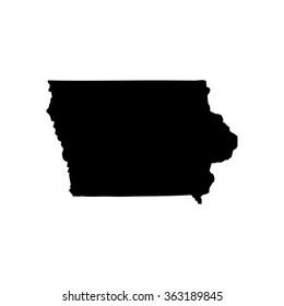 High detailed map of Arkansas.