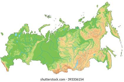 Mapa Fisic Del Mon.Imagenes Fotos De Stock Y Vectores Sobre Mapa De Relieve