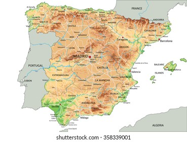 Andalusia Map Stock Vectors Images Vector Art Shutterstock