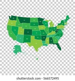 Map Of America Labeled States.Vectores Imagenes Y Arte Vectorial De Stock Sobre Usa Map
