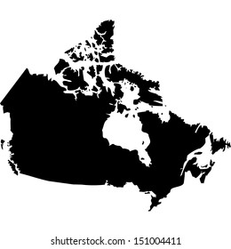 Map Of Canada Silhouette.Canada Map Images Stock Photos Vectors Shutterstock