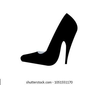High heel cartoon illustration