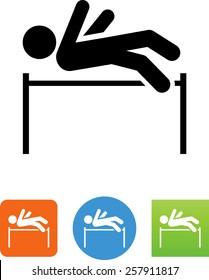 High jumper icon