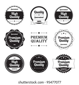 High Quality Labels Set