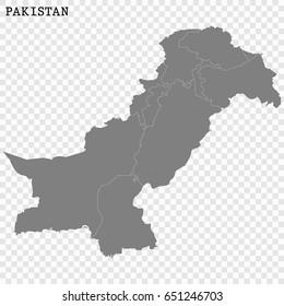Pakistan Map Images, Stock Photos & Vectors | Shutterstock