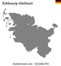 Holstein Map Images Stock Photos Vectors Shutterstock