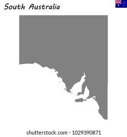 South Australia Map Outline.South Australia Outline Images Stock Photos Vectors