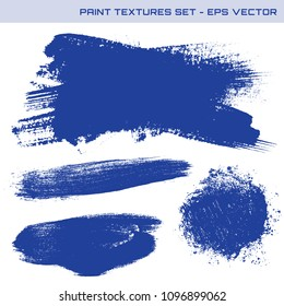 High quality vector paint textures. Ink strokes, blots that can be used as clipping masks or as backgrounds for banners, labels or promotion designs.