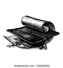 High School. Vector illustration