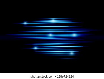 High speed movement Abstract technology background. Vector illustration.