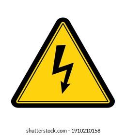 High Voltage sign design vector illustration