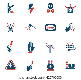 high voltage web icons for user interface design
