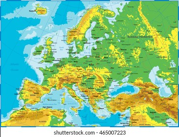 Topographic Map Of Russia Images Stock Photos Vectors Shutterstock