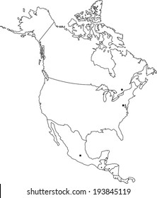 North America Outline Map Images, Stock Photos & Vectors ... on outline map poland, outline map south korea, color map of america, balkanization of america, contour map of america, simple outline of north america, outline map latvia, blank map of america, map of north america, latitude and longitude map of america, state map of america, agricultural map of america, outline south america map, printable outline of north america, insurance office of america, theme map of america, layout map of america, coloring pages of america, puppeteers of america,