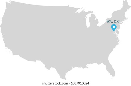 Usa Map State Abbreviations Images, Stock Photos & Vectors ...