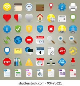 Highly Detailed Vector Icons For Web Applications