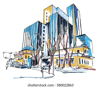 High-rise_building_sketch