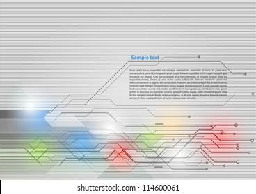 High-tech background