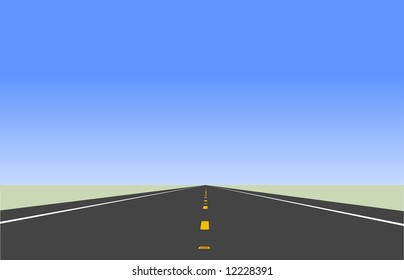 Highway illustration.