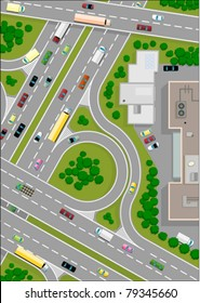 Cartoon Road Map Images Stock Photos Amp Vectors Shutterstock