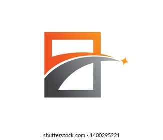 Highway Logo Template, Icon, Symbol