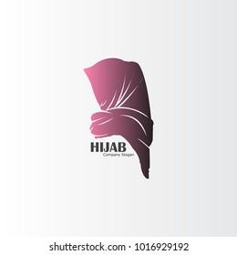 Hijab logo design