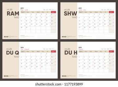 Dhul Hijja 2019 Calendrier.Vectores Imagenes Y Arte Vectorial De Stock Sobre