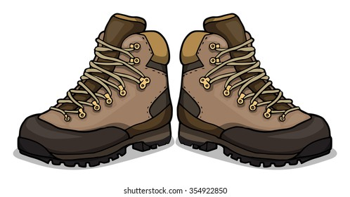 Hiking Boots Images Stock Photos Vectors Shutterstock