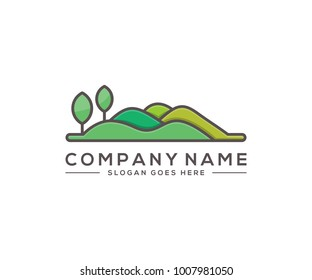 hill logo template